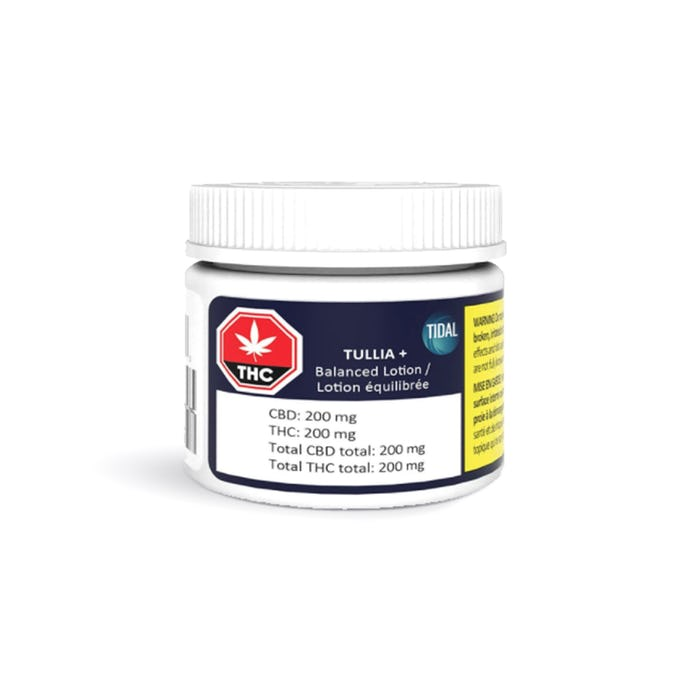 THC lotion, Topical THC product, lotion